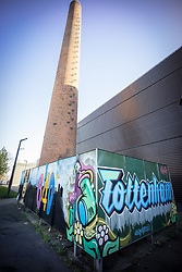 Graffiti/ street art, Bernie Grant Arts Centre, Tottenham Green, London