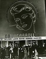 1937 Earl Carroll Theater