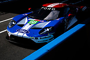 June 10-16, 2019: 24 hours of Le Mans. 68 FORD CHIP GANASSI TEAM USA, FORD GT, Joey HAND, Dirk MÜLLER, Sébastien BOURDAIS , morning warmup