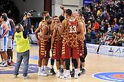 DESCRIZIONE : Campionato 2015/16 Serie A Beko Dinamo Banco di Sardegna Sassari - Umana Reyer Venezia<br /> GIOCATORE : Umana Reyer Venezia<br /> CATEGORIA : Postgame Ritratto Esultanza<br /> SQUADRA : Umana Reyer Venezia<br /> EVENTO : LegaBasket Serie A Beko 2015/2016<br /> GARA : Dinamo Banco di Sardegna Sassari - Umana Reyer Venezia<br /> DATA : 01/11/2015<br /> SPORT : Pallacanestro <br /> AUTORE : Agenzia Ciamillo-Castoria/C.Atzori