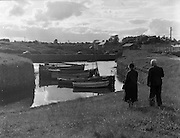 01/02/1957<br /> 02/01/1957<br /> 01 February 1957<br /> Possibly view at Courtown Harbour, Co. Wexford.