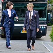 NLD/Tilburg/20110618 - Huwelijk Joris Mathijsen en Christel van Rijn, ontwerper Addy van den Krommenacker