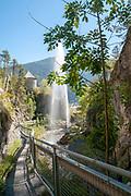 Zammer Lochputz waterfall and gorge, Tyrol,  Austria