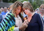 Vigil in Support of Orlando Massacre Victims in New Hope, Pennsylvania