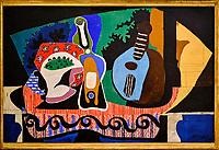 République d'Irlande, Dublin, National Gallery of Ireland, musée national de peinture, Pablo Picasso, Nature morte à la mandoline, 1924 // Republic of Ireland; Dublin, National Gallery of Ireland, Pablo Picasso, Still Life with a Mandolin, 1924