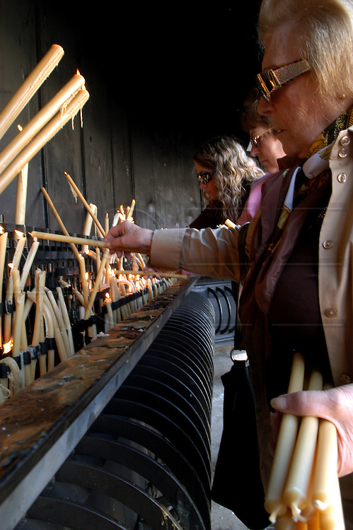 Manufacturing of religious goods to be sold in Fátima Sanctuary, in central Portugal.