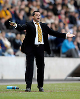 Photo: Jed Wee/Sportsbeat Images.<br /> Hull City v Norwich City. Coca Cola Championship. 06/04/2007.<br /> <br /> Hull manager Phil Brown.