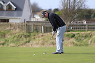 John Dignam (Brittas) on the 3rd green during the PGA Winter Series Southern Branch in Rush Golf Club on Friday 20th March 2015.<br /> Picture:  Thos Caffrey / www.golffile.ie