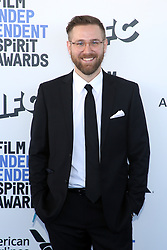 February 8, 2020, Los Angeles, California, United States: 2020 Film Independent Spirit Awards held at Santa Monica Pier..Featuring: Tyler L. Cook.Where: Los Angeles, California, United States.When: 08 Feb 2020.Credit: Faye's VisionCover Images (Credit Image: © Cover Images via ZUMA Press)