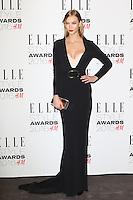 Karlie Kloss, ELLE Style Awards 2016, Millbank London UK, 23 February 2016, Photo by Richard Goldschmidt