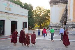 Monks, Saw Daw Palin Phaya, AD 1203