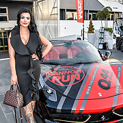 Katy Roocroft head Cannon girls at the Driving holiday experience hosts yacht party at The Sunborn Yacht, Royal Victoria Dock on 31 May 2019, London, UK.