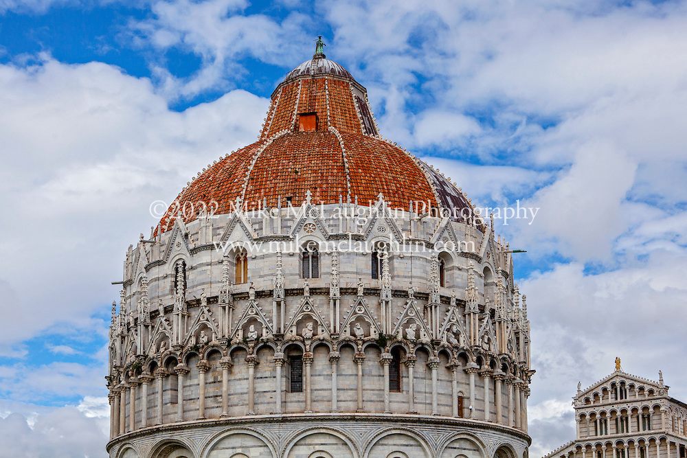 April 30, 2014<br /> Battistero di San Giovanni (Baptistry of St. John). Pisa, Italy.<br /> ©2014 Mike McLaughlin<br /> www.mikemclaughlin.com<br /> All Rights Reserved