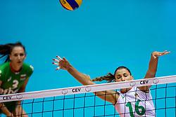 22-08-2017 NED: World Qualifications Slovenia - Bulgaria, Rotterdam<br /> Bulgaria win 3-1 against Slovenia / Elitsa Vasileva #16 of Bulgaria<br /> Photo by Ronald Hoogendoorn / Sportida