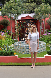 HOLLY BRANSON at the 2014 RHS Chelsea Flower Show held at the Royal Hospital Chelsea, London on 19th May 2014.