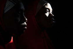 Fourteen-year-old twin sisters Hassana and Hussaina, were abducted and held captive by Boko Haram until they escaped. Boko Haram, a militant Islamist group, began it's insurgency against the Nigerian government in 2009. The terrorist group drew global outrage after abducting more than 270 schoolgirls from the town of Chibok. Many of the girls were forced into marriage and motherhood. The Borno State National Emergency Agency estimates tens of thousands more women and girls have also been kidnapped by militants in less-publicized attacks. In armed conflicts, child marriage is increasingly used as a weapon of war, forcing girls to give birth give birth to the next germination of fighters. Thousands of girls remain missing in Nigeria with little help of rescue. Those who manage to escape struggle with little support to rebuild their lives.