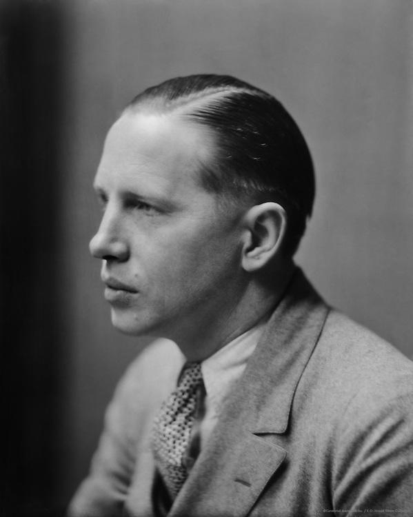 Louis Bromfield, American Author, 1926