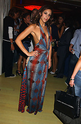 SERENA MATTAR at a fashion show by ISSA held at Cocoon, 65 Regent Street, London on 21st September 2005.<br /><br />NON EXCLUSIVE - WORLD RIGHTS