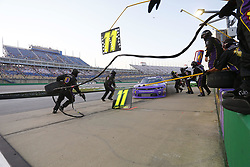 July 13, 2018 - Sparta, Kentucky, United States of America - Ryan Truex (11) brings his car down pit road for service during the Alsco 300 at Kentucky Speedway in Sparta, Kentucky. (Credit Image: © Chris Owens Asp Inc/ASP via ZUMA Wire)
