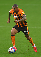 Hull City's Josh Magennis<br /> <br /> Photographer Dave Howarth/CameraSport<br /> <br /> The EFL Sky Bet League One - Hull City v Plymouth Argyle - Saturday 3rd October 2020 - KCOM Stadium - Kingston upon Hull<br /> <br /> World Copyright © 2020 CameraSport. All rights reserved. 43 Linden Ave. Countesthorpe. Leicester. England. LE8 5PG - Tel: +44 (0) 116 277 4147 - admin@camerasport.com - www.camerasport.com