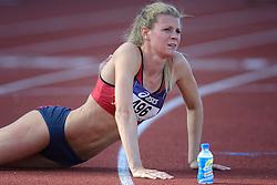 31-07-2015 NED: Asics NK Atletiek, Amsterdam<br /> Nk outdoor atletiek in het Olympische stadion Amsterdam /  Nicky van Leuveren wint de 400 m