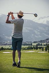 06.06.2019, Golfclub Zillertal, Uderns, AUT, Skijumpers Golf Trophy, im Bild Andreas Felder (AUT) // during the Skijumpers Golf Trophy at the Golfclub Zillertal, Uderns, Austria on 2019/06/06. EXPA Pictures © 2019, PhotoCredit: EXPA/Stefanie Oberhauser