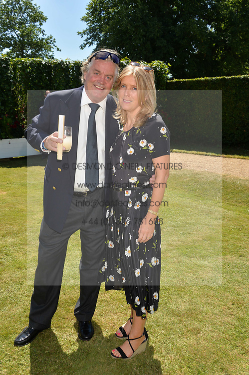 The Duke & Duchess of Marlborough at the Cartier Style et Luxe at the Goodwood Festival of Speed, Goodwood, West Sussex, England. 2 July 2017.<br /> Photo by Dominic O'Neill/SilverHub 0203 174 1069 sales@silverhubmedia.com
