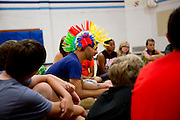 Shadow Armada is seen doing tissue time in Albany, Wisconsin on July 20, 2014.