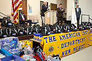 12/8/13 12:25:28 PM -- Albuquerque NM  --Presentation of supplies for Operation Comfort Warriors gifts to the Raymond G. Murphy VA Medical Center in Albuquerque, N.M..<br /> <br />  --    Photo by Steven St John