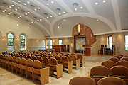 Israel, Tel Aviv, Beit Daniel, Tel Aviv's first Reform Synagogue the prayer hall