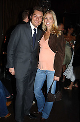 SEB & HEIDI BISHOP she was model Heidi Wichlinski at the opening party for the new BECCA cosmetics store at 91a Pelham Street, London SW7 on 19th May 2005.<br /><br />NON EXCLUSIVE - WORLD RIGHTS