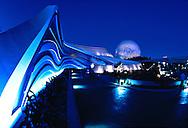 Front entrance to The Living Seas aquarium at EPCOT, Buena Vista, Florida