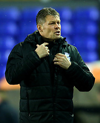 Birmingham City manager Steve Cotterill - Mandatory by-line: Robbie Stephenson/JMP - 06/02/2018 - FOOTBALL - St Andrew's Stadium - Birmingham, England - Birmingham City v Huddersfield Town - Emirates FA Cup fourth round proper