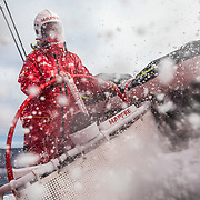 Leg 7 from Auckland to Itajai, day 05 on board MAPFRE, Rob Greenhalgh steering. 21 March, 2018.
