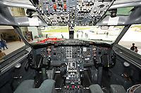 Westjet Boeing 737 cockpit