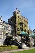 Canada, British Columbia, Vancouver Island, Royal Roads University. Hatley Castle