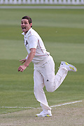 Ed Nuttall of Canterbury celebrate the wicket of Ben Smith of CD. Canterbury vs. Central Districts Day 1, 1st round of the 2021-2022 Plunket Shield cricket competition at Hagley Oval, Christchurch, on Saturday 23rd October 2021.<br /> © Copyright Photo: Martin Hunter/ www.photosport.nz