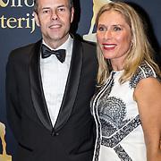 NLD/Utrecht/20170929 - Uitreiking Gouden Kalveren 2017, Elle van Rijn Rijn en partner Nicola Villa
