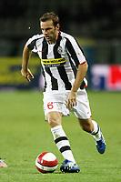 Fotball<br /> Italia<br /> Foto: Inside/Digitalsport<br /> NORWAY ONLY<br /> <br /> Torino 25.08.2007 Match Day 1<br /> Juventus v Livorno 5-1 <br /> <br /> Cristiano ZAnetti (Juventus)