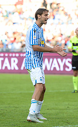 October 20, 2018 - Rome, Lazio, Italy - Simone Missiroli during the Italian Serie A football match between A.S. Roma and Spal at the Olympic Stadium in Rome, on october 20, 2018. (Credit Image: © Silvia Lore/NurPhoto via ZUMA Press)