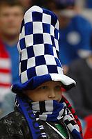 Photo: Tony Oudot.<br /> England v Estonia. UEFA European Championships Qualifying. 13/10/2007.<br /> Estonian fans