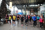 NO FEE PICTURES <br /> 1/1/15 The Resolution Day New Years Day fun run at the CHQ building in Dublin. Picture:Arthur Carron