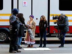 """Drew Barrymore is a milkmaid on the set of """"The Stand-In"""" - 19 Feb 2019"""