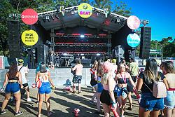 Syon durante a 25ª edição do Planeta Atlântida. O maior festival de música do Sul do Brasil ocorre nos dias 31 Janeiro e 01 de fevereiro, na SABA, praia de Atlântida, no Litoral Norte do Rio Grande do Sul. FOTO: <br /> Gustavo Granata/ Agência Preview