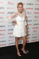 Frankie Gaff attending the Cosmopolitan FashFest 2016, Old Billingsgate Market, London. Picture credit should read: Doug Peters/EMPICS Entertainment
