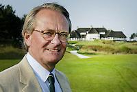 ZANDVOORT - Voorzitter van de Kennemer Golfclub, Jan Willem Hoving. Copyright Koen Suyk