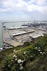 © licensed to London News Pictures. . 23/06/2011. Port of Dover,UK. £19m drugs haul has been seized at Dover Port. Drugs with a street value of more than £19m have been seized in two separate smuggling attempts at the Kent port. A Spanish lorry driver and a British man, 45, were arrested and bailed. See special instructions. Picture credit should read Grant Falvey/LNP.