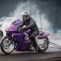 Darrin McDonald (899) on his Kawasaki Modified Bike.