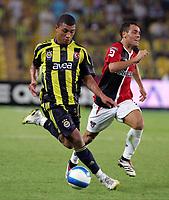 Fotball<br /> Tyrkia<br /> Foto: imago/Digitalsport<br /> NORWAY ONLY<br /> <br /> 18.08.2007<br /> Colin Kazim Richards (Fenerbahce, li.) im Duell