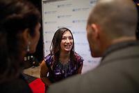 Randi Zuckerberg at the UN Gala in New York, where she interviewed attendees live on Facebook....Photo by Robert Caplin.